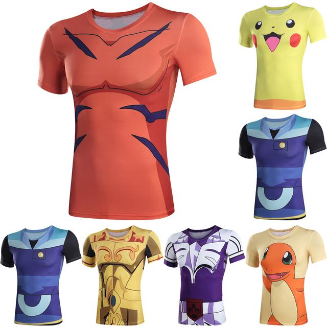 Pokemon Style Short Sleeve Tracksuit 4XL