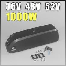 цены 48V 52V ebike Battery 500W 750W 1000W 1500W Hailong Battery 36V BBS02 BBSHD bafang kits battery