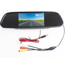 Дюймов 5,0 «5,0 дюймов TFT ЖК-дисплей цвет автомобиля зеркало заднего вида монитор видео dvd-плеер автомобиля аудио авто для автомобиля обратная камера
