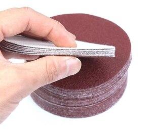Image 5 - 30pcs/set 7inch 180mm  Round sandpaper Disk Sand Sheets Grit 80/100/120/180/240/320 Hook and Loop Sanding Disc for Sander Grits