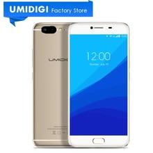 Umidigi Z металлический смартфон 5.5 «МТК helio X27 дека-core Mali-T880 32 ГБ Встроенная память 13MP Фронтальная камера отпечатков пальцев мобильный телефон