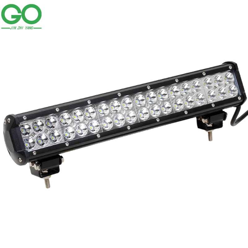 18 inch 108W Cree LED Work Light Bar for Offroad Boat Car Tractor Truck 12V 24V Spot Flood Combo Beam Auto Inspection Lamps super slim mini white yellow with cree led light bar offroad spot flood combo beam led work light driving lamp for truck suv atv