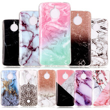 SuliCase For Funda Moto E4 Plus Case Silicon Marble Soft TPU Cover Phone Case for Motorola Moto E4 Plus XT1771 XT1770 XT1775 цена