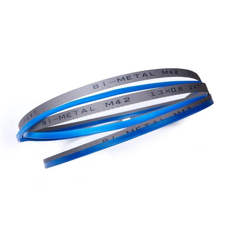 Wholesale 3Pcs 1470 13 0 65 14tpi Metal Cutting Bandsaw Blades M42 Band Saw Blade 57