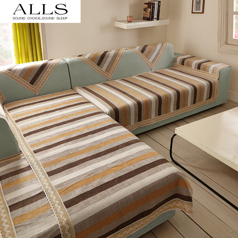 Cotton Linen Sofa Covers L L Shape Slip Cover Sofa Cuir
