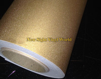 High Quality Glitter Sandy Gold Diamond Vinyl Sticker Decal Bubble Free For Phone Laptop Skin Cover Size:1.52*30M
