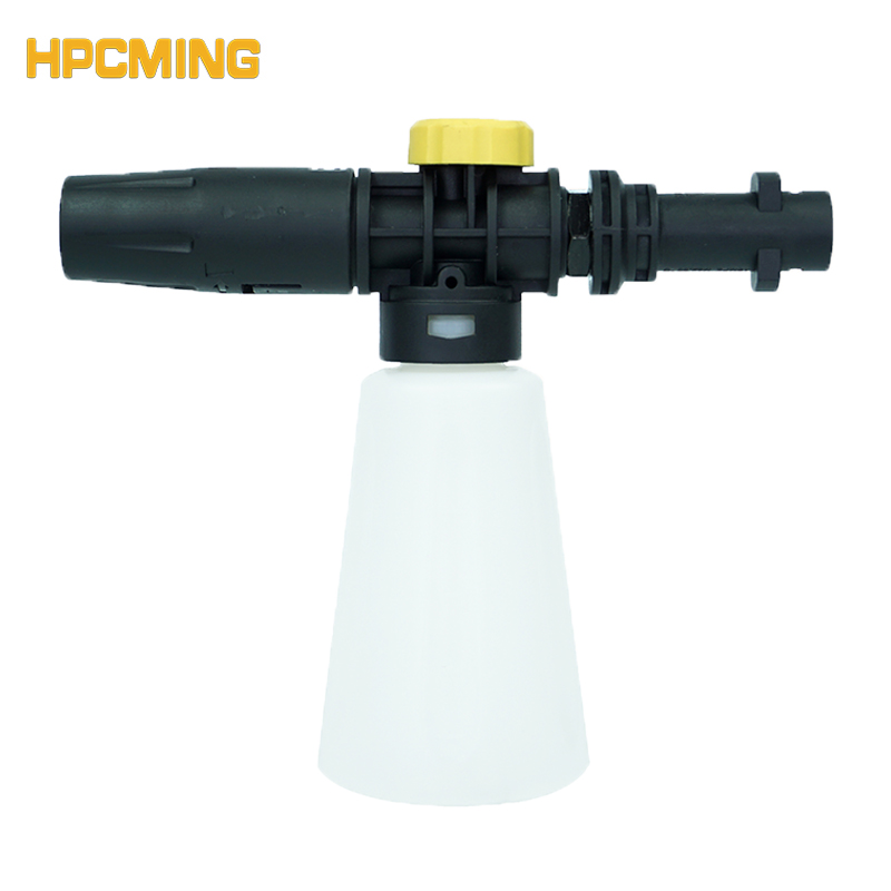 2018 Time-limited Gs High Quality Foam Lance Snow For Karcher K Series Machine With Plastic Adapter Hot Sale (cw050) mjjc brand foam lance connector adapter fitting for karcher k series from k1 k7 all k series models with high quality