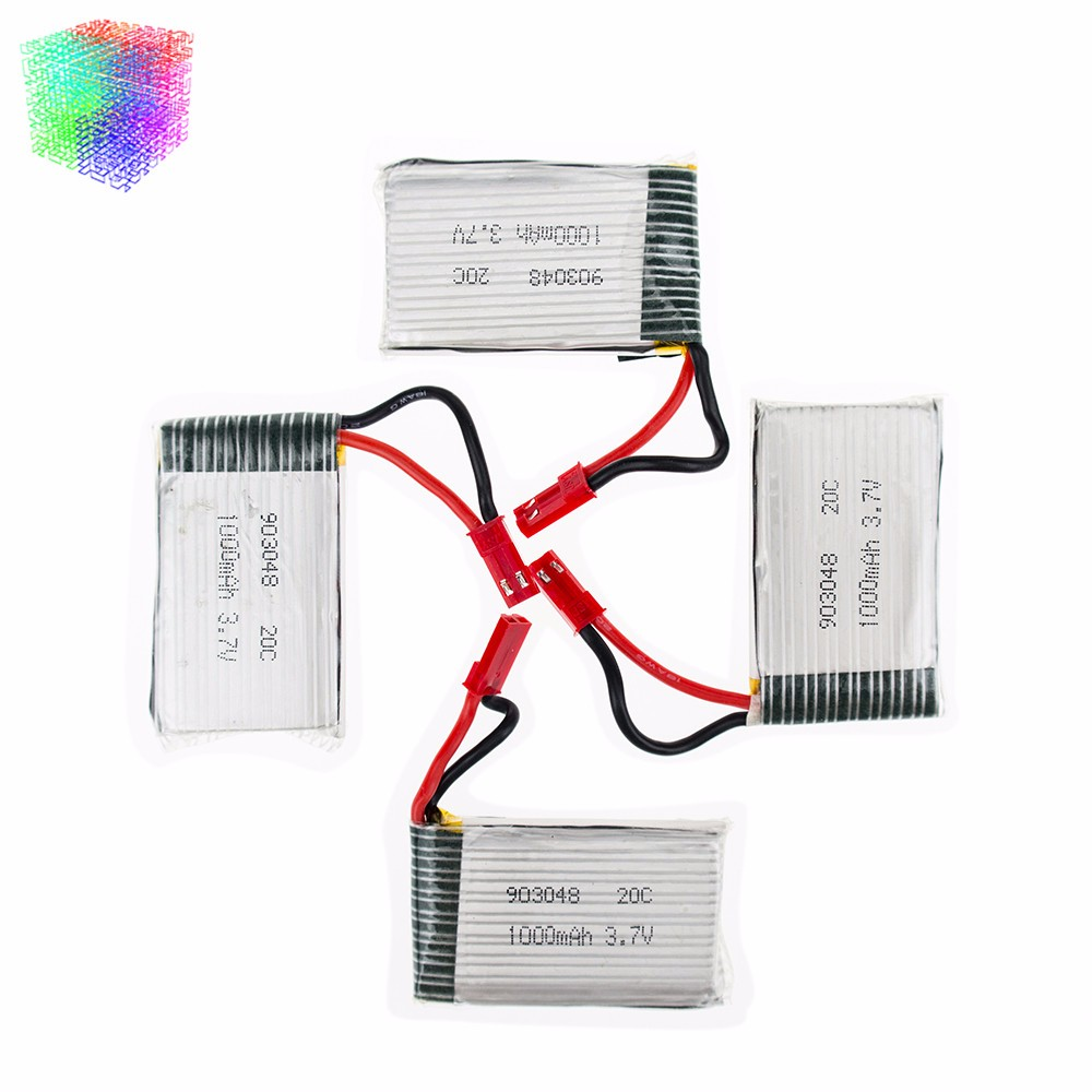 JJRC h11c h11d lipo battery 3.7v headed (141)