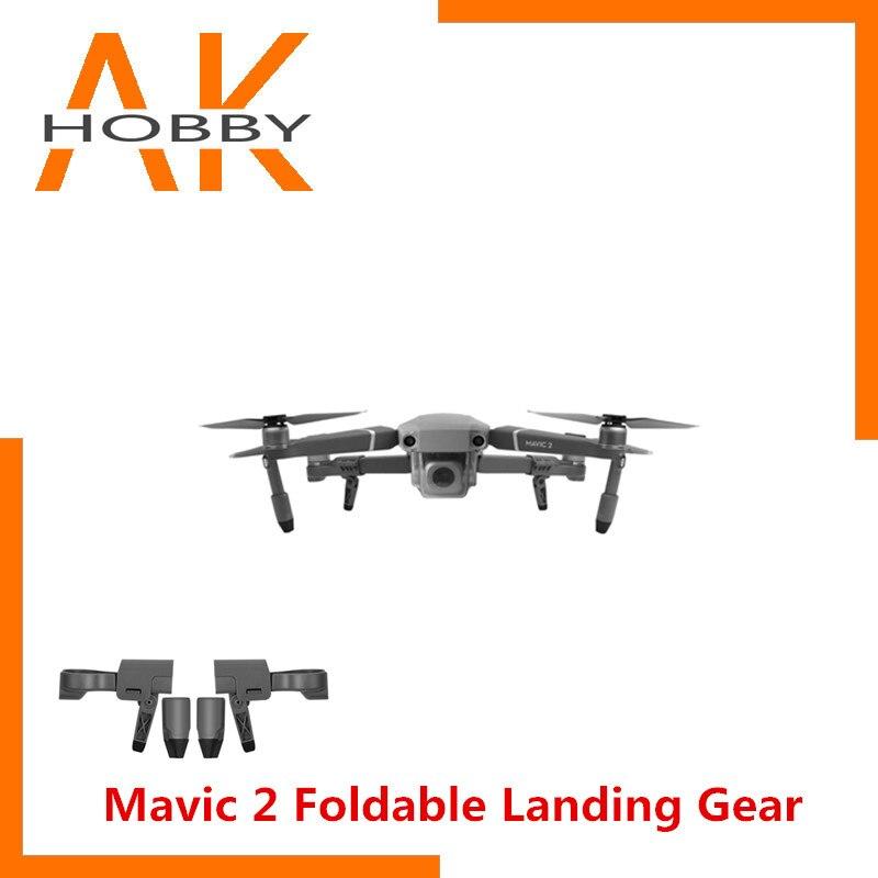 Mavic 2 Foldable Landing Gear Extension Legs Support Feet for DJI Mavic 2 Pro Zoom RTF Drone Accessories