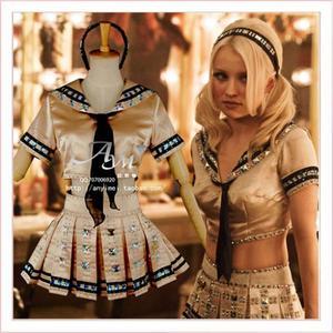 Платье-кукла с пуансоном на присоске, карнавальный костюм, изготовленный на заказ [G754]