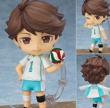 hot Haikyuu Action Figure Oikawa Tooru  563# 10CM Haikyuu Nendoroid Oikawa Tooru Model Toy Doll Volleyball Figure tobyfancy haikyuu action figures nendoroid hinata syouyou kageyama tobio figure pvc 10cm anime volleyball figures haikyuu