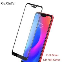 Screen Protector For Xiaomi Mi 8 Lite Full Glue Glass Tempered Glass For Xiaomi Mi 8 Lite Full Coverage Toughened 9H Glass Mi 8x