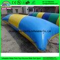 Preço de fábrica inflável blob água, inflável água travesseiro pulando, inflável blob catapulta para vendas