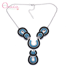 Onnea New Fashion Women Vintage Necklaces Pendants Statement Necklaces & Pendants Long Necklace Women Jewelry Collares