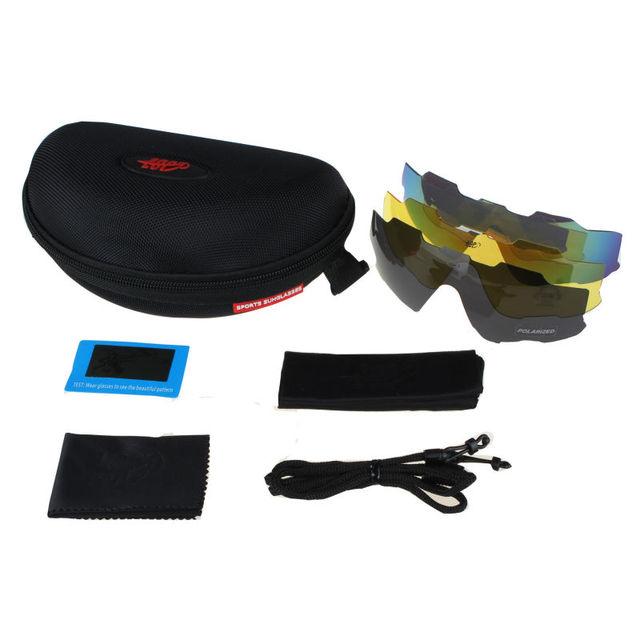 2ae48c1c3e COMAXSUN Profesional Polarizada Gafas Ciclismo Bike gafas de Sol Deportivas  de Conducción Gafas de Pesca Al Aire Libre UV 400 3 Lente de 6 colores.  Previous ...