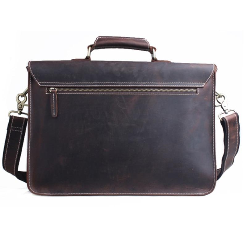 14 polegada maleta bolsa de Composição : Genuine Leather