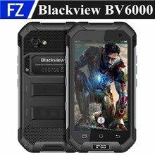 Оригинал BLACKVIEW BV6000 4.7 «водонепроницаемый IP68 MTK6755 окта основные Android 6.0 4 Г LTE мобильный телефон 13MP 3 ГБ RAM 32 ГБ ROM dual sim GPS