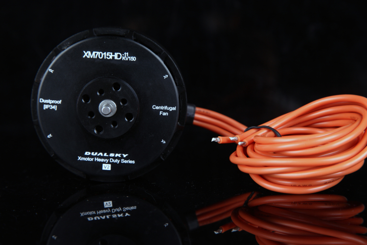 DUALSKY Xmotor Heavy Duty Series High Voltage Multi-copter Motor XM7015HD-11 10-12S <font><b>150KV</b></font> V2 / XM7015HD-5 330KV V2 for FPV Multi image