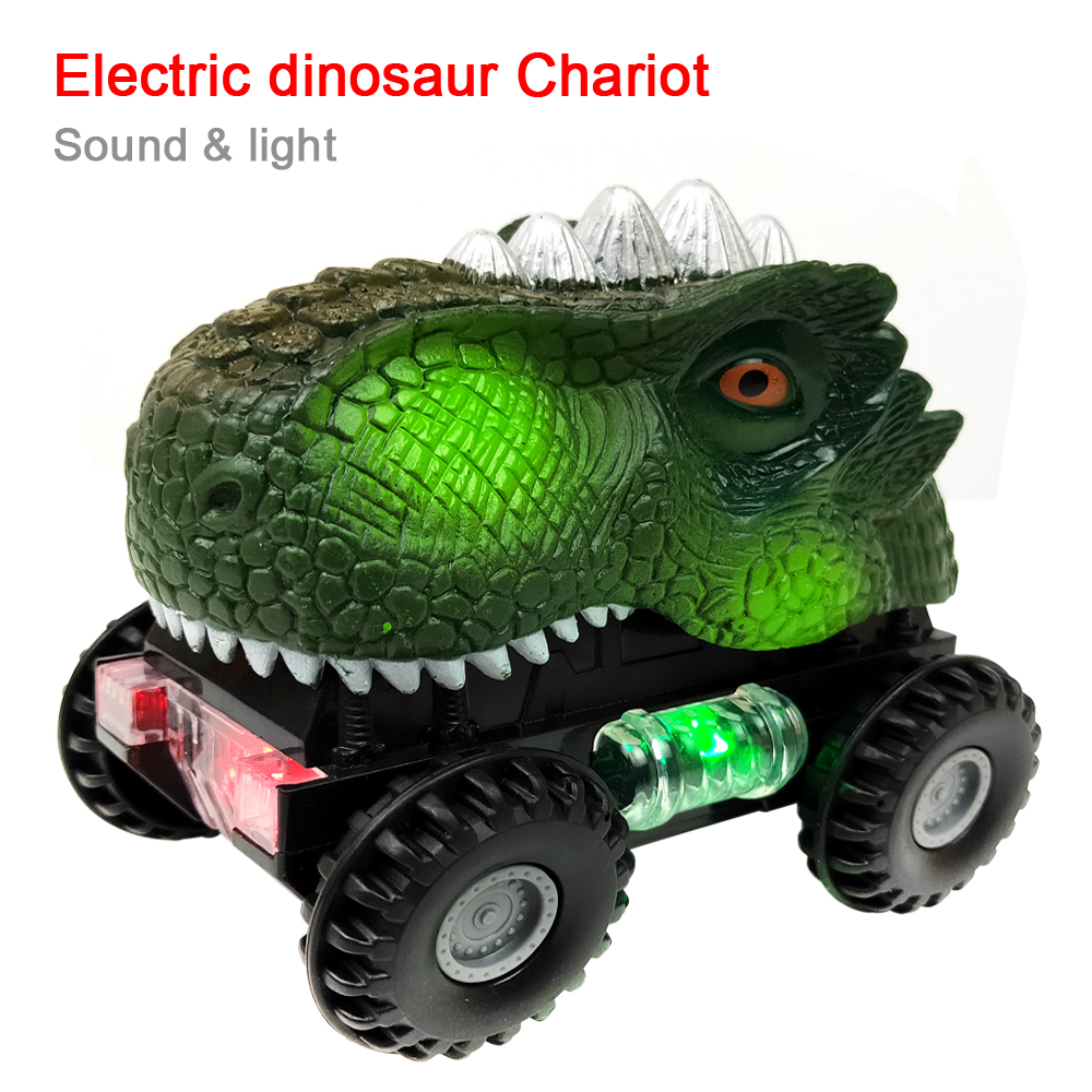 Electric Interactive Dinosaur Toys Car: Light And Music Dinosaur & Dinosaurs For Games, Electronics Car Boy Toy Gift For Kids