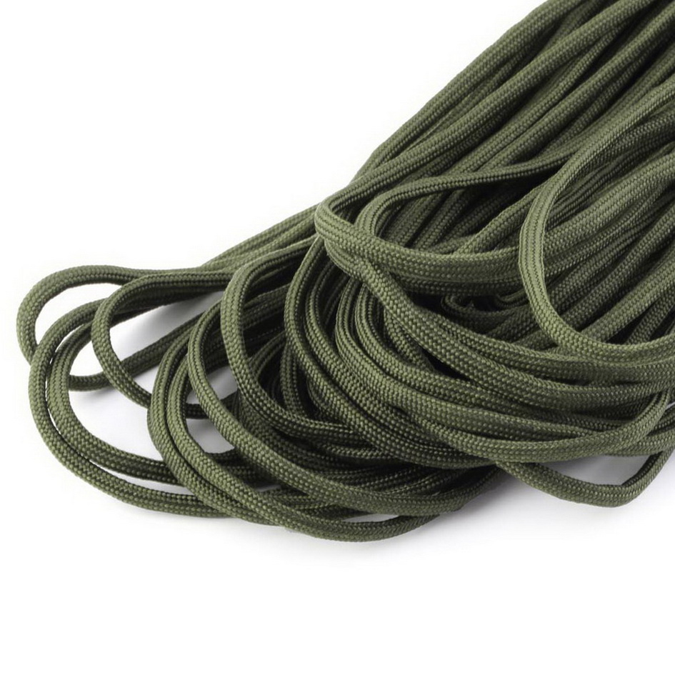 Notfallausrüstung 7 Strand Core100FT 550 Paracord Parachute Cord Lanyard Mil Spec Type III JL Camping & Outdoor