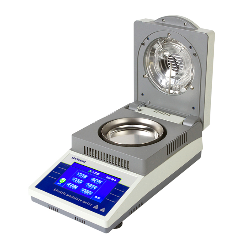 Meetinstrument DHS 10A Vocht Analyzer Thee Hout Water Mais Graan Halogeen Vocht Tester