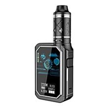 220W Electronic e Cigarette Kit 510 Thread 4600mAh Capacity Battery Quad Core Temperature Control System Box VAPE