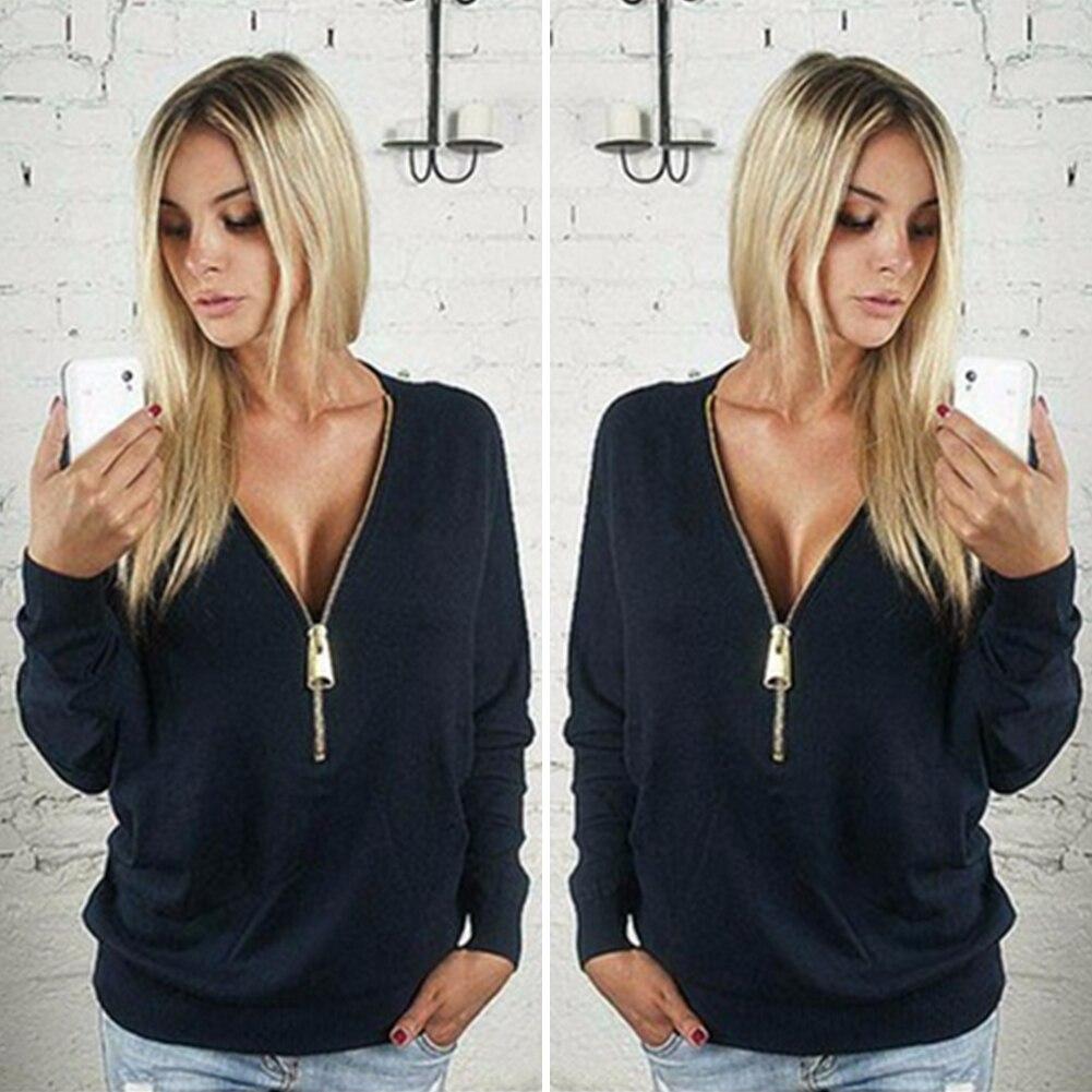 2017 лидер продаж осень модные свитеры для женщин весна европа повседневное одноцветное кофты для женщин тонкий молнии короткий пуловер женский