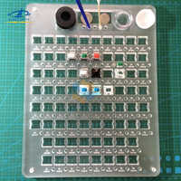 [HFSECURITY] DIY Keyboard Axis Oiling Plate for Mechanical Keyboard Blue Brown Red Gray Green White Switch Acrylic Oil Board