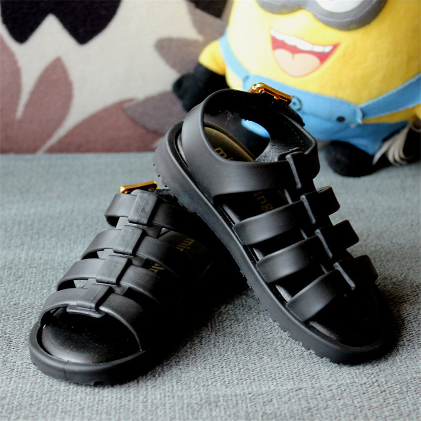 2018 Mini Melissa Brazil Roman Sandals Boys Girls Sandals Jelly Shoes Sandals ChildrenS Shoes Roman Melissa Hollow Breathable