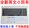 Free shipping 95% New For X550 K550V X550C X552E A550J Y581C keyboard with housing palmrest without touchpad White