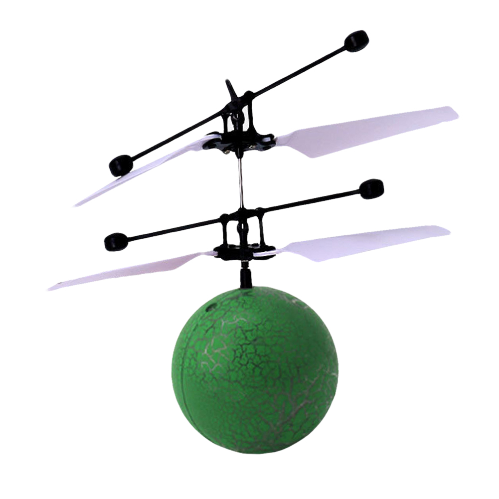Children Infrared Induction Flying Ball Toy Kids Helicopter Fun Outdoor Fly Ball Toy LED Light Flashing Toy Cool Birthday Gift