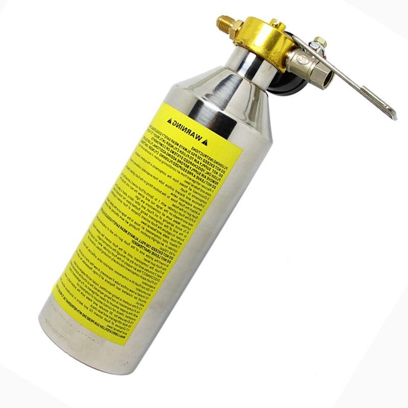Kits de pistolet à cartouche affleurante pour climatisation ensemble d'outils propres pour voiture Auto climatisation R134a R12 R22 R410a R404a