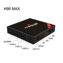 Android TV Box H96 Max 4G 32G RK3328 Quad Core Set top