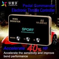 Автомобиль лошадиных сил повышения топливной сохранить авто электронный контроллер дроссельной заслонки Педаль бустер для Nissan Navara D40 все д