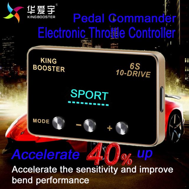 US $180 41 5% OFF|Car Tuning Speed horsepower enhance Auto Electronic  Throttle controller Pedal Booster For Nissan Navara D40 All engines  2005+-in