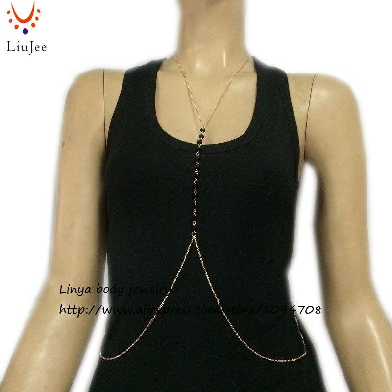 740d70599d BC-404 Festival Gold Color Body Chain Necklace