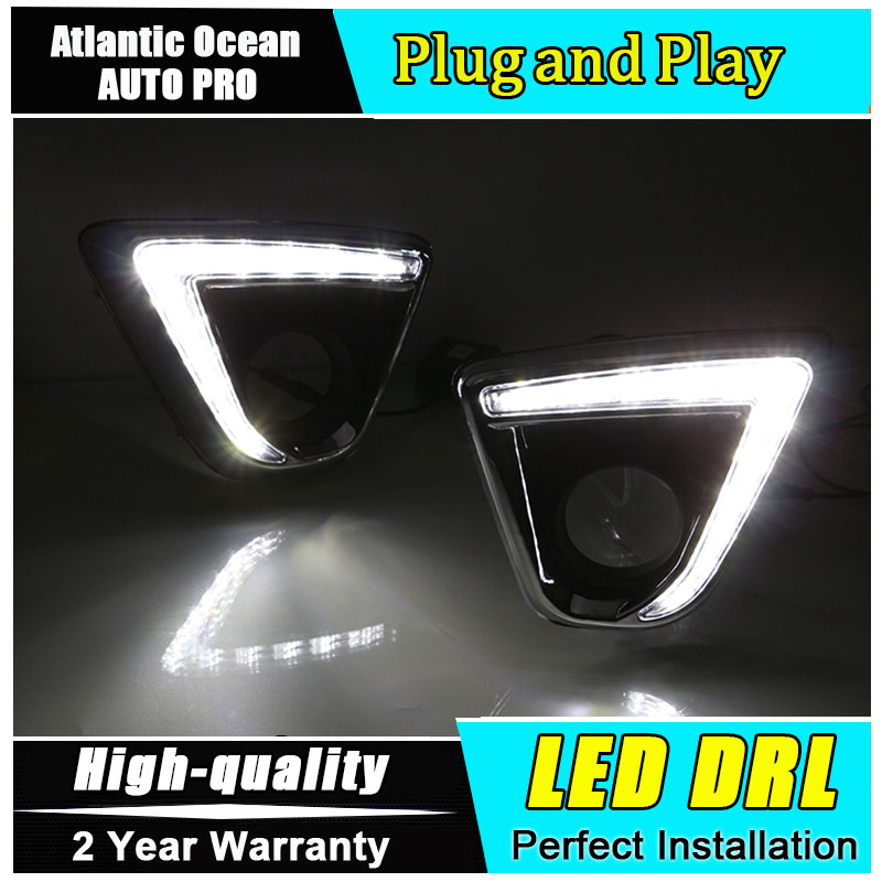 JGRT car styling For Mazda CX-5 LED DRL For Mazda CX-5 led fog lamps daytime running light High brightness guide LED DRL
