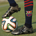 YEALON New Football Shoes Man Long Spikes FG Men  2017 Chuteira Futebol Soccer Cleats Superfly  Outdoor Training Soccer Shoes