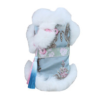 Pet dog clothes pet Tang suit cheongsam Chinese style puppy Teddy bear costume