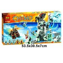 Bela 10296 Chimo Series Sword Master Castle Minifigure Building Block 668Pcs Bricks Toys Best Toys