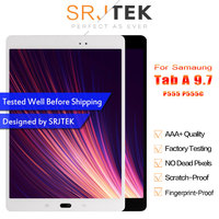 Srjtek For Samsung GALAXY Tab A 9.7 P555 P555C SM P555 LCD Display Touch Screen Digitizer Matrix Panel Tablet Assembly Parts