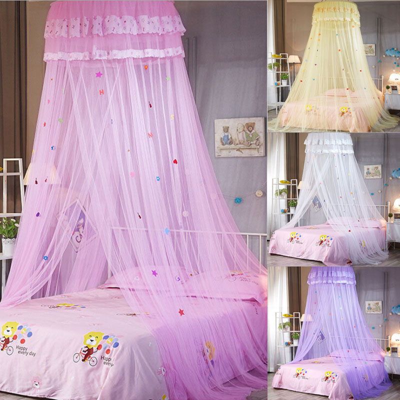 Dome Princess Bed Canopy Mosquito Net Child Tent Curtain For Baby Girl Room