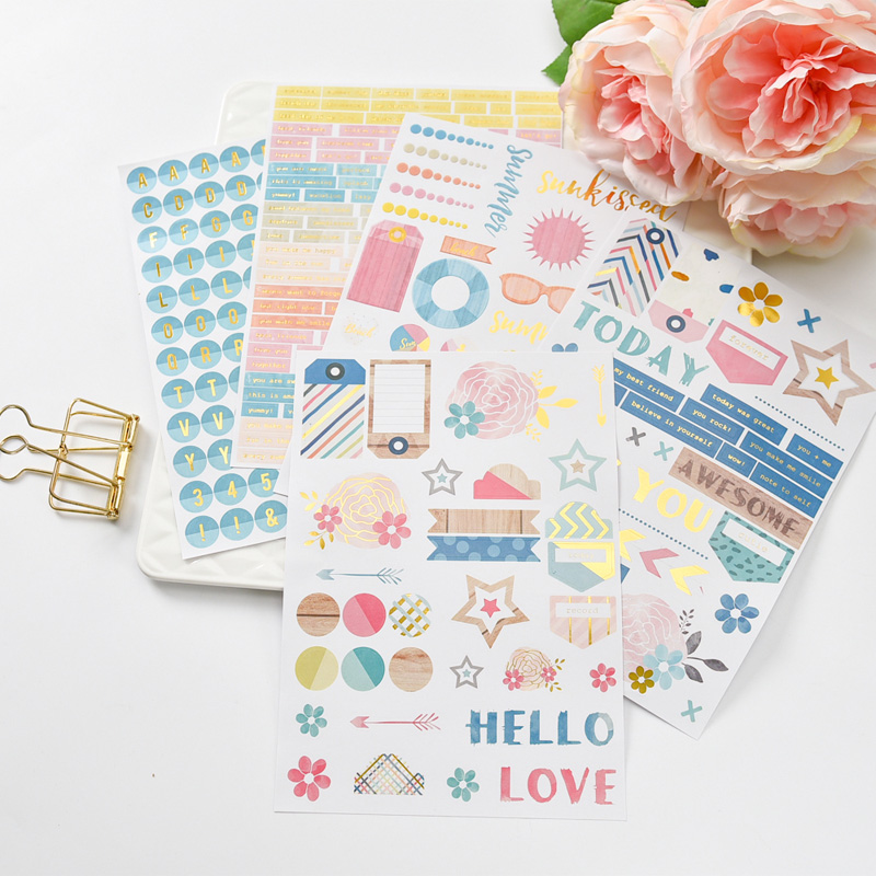 My Best Friend Self- adhesive Paper Sticker for Scrapbooking Happy Planner/Card Making/Journaling Project
