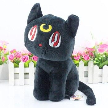 Peluche Chat noir Lune Sailor Moon Noir
