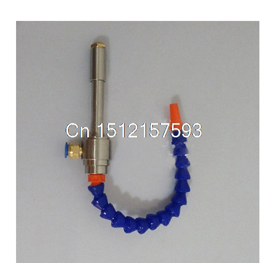 Vortex Cold and Hot Air Dry Cooling Gun with Flexible Tube Aluminium Alloy 145mmVortex Cold and Hot Air Dry Cooling Gun with Flexible Tube Aluminium Alloy 145mm