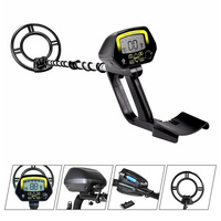 MD 4060 Underground Metal Detector Waterproof Portable Light Gold Detector Treasure Metal Finder Seeking Tool