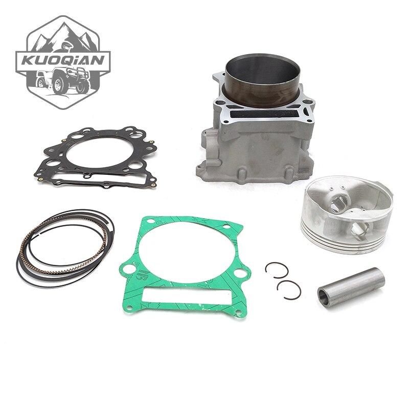 KUOQIAN HISUN Parts HS700cc HS 700 Cylinder Assy Piston Kit Rings For Hisun  700cc HS700 ATV UTV Parts High Quality