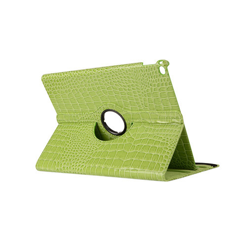 SZEGYCHX Tablet Case,For iPad 2 3 4,Case 360 Rotation Crocodile Leather Protective Sleeve Rotary Tablet Stylus Cover pen & Gift