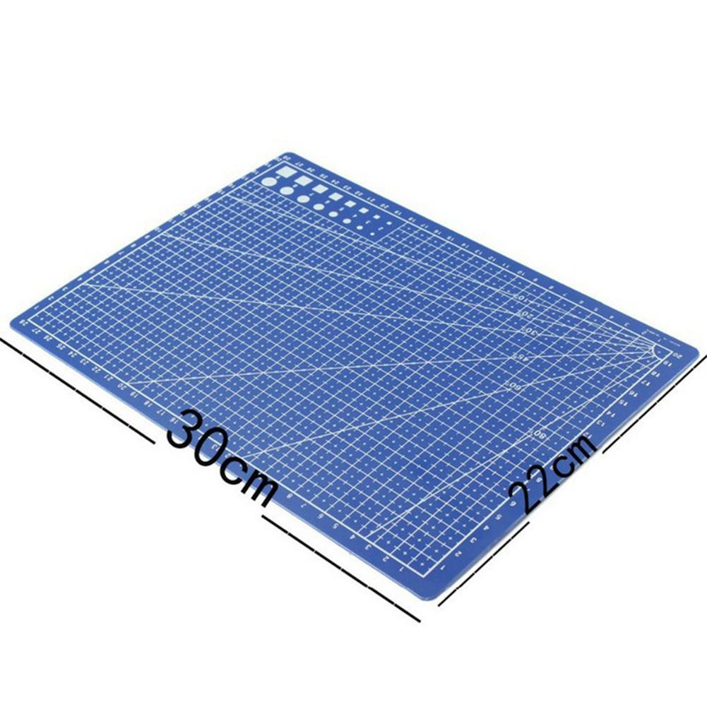 None A4 PVC Cutting Mats Plate Double-sided Engraving Cutting Board Mat Handmade Hand Tools R20