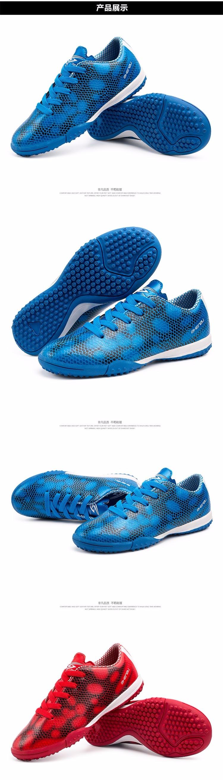 ZHENZU Football Boots Superfly Original Soccer Shoes Cleats Kids Teenagers Training AG HG TF voetbalschoenen chuteira futebol 1